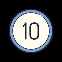 10-circled