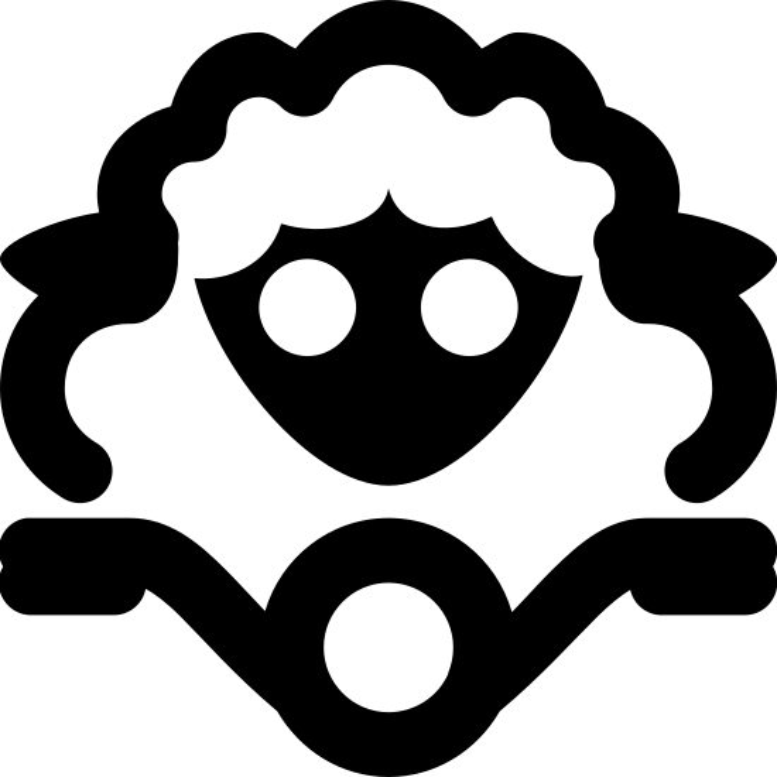 Sheep on Bike icon