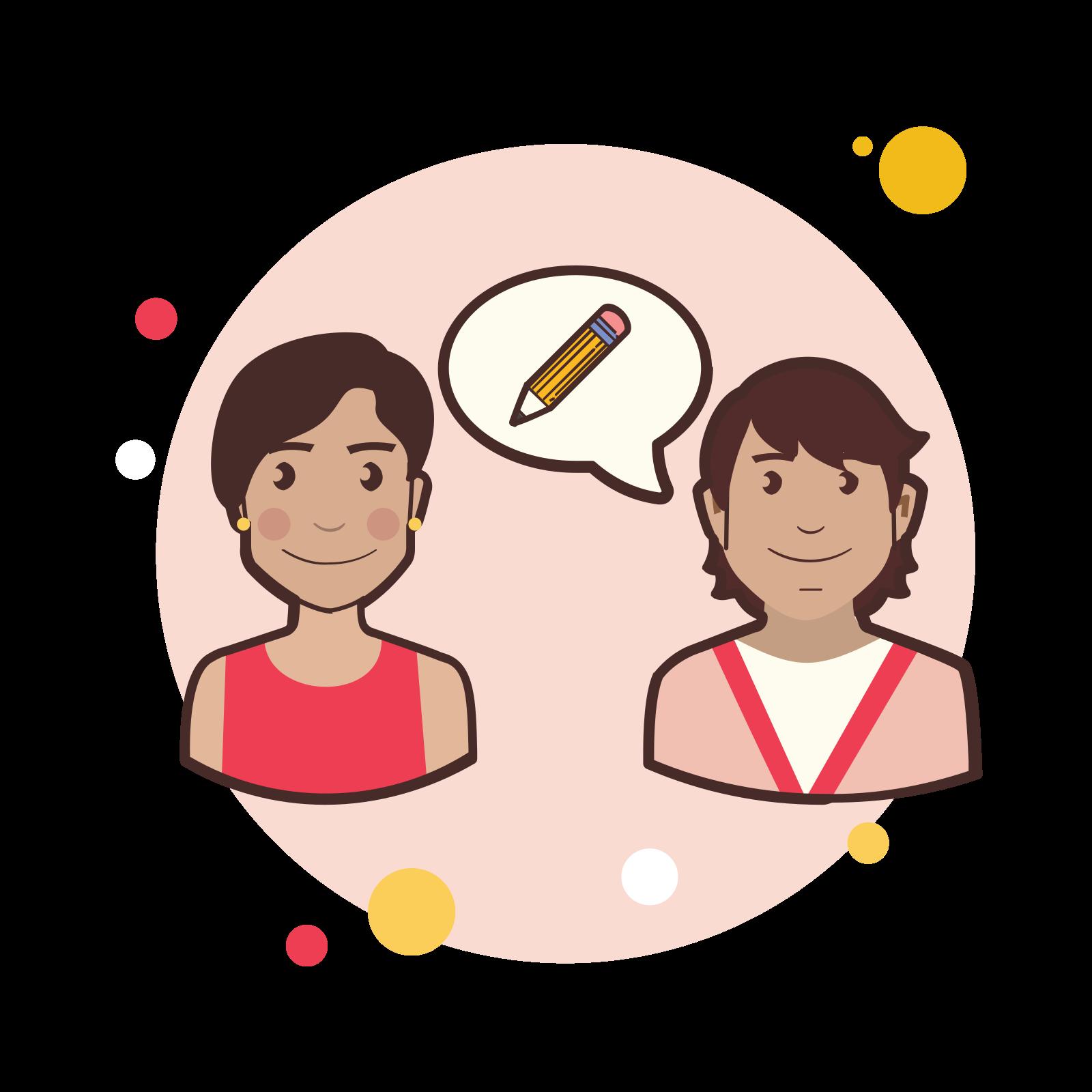 Couple Pencil icon