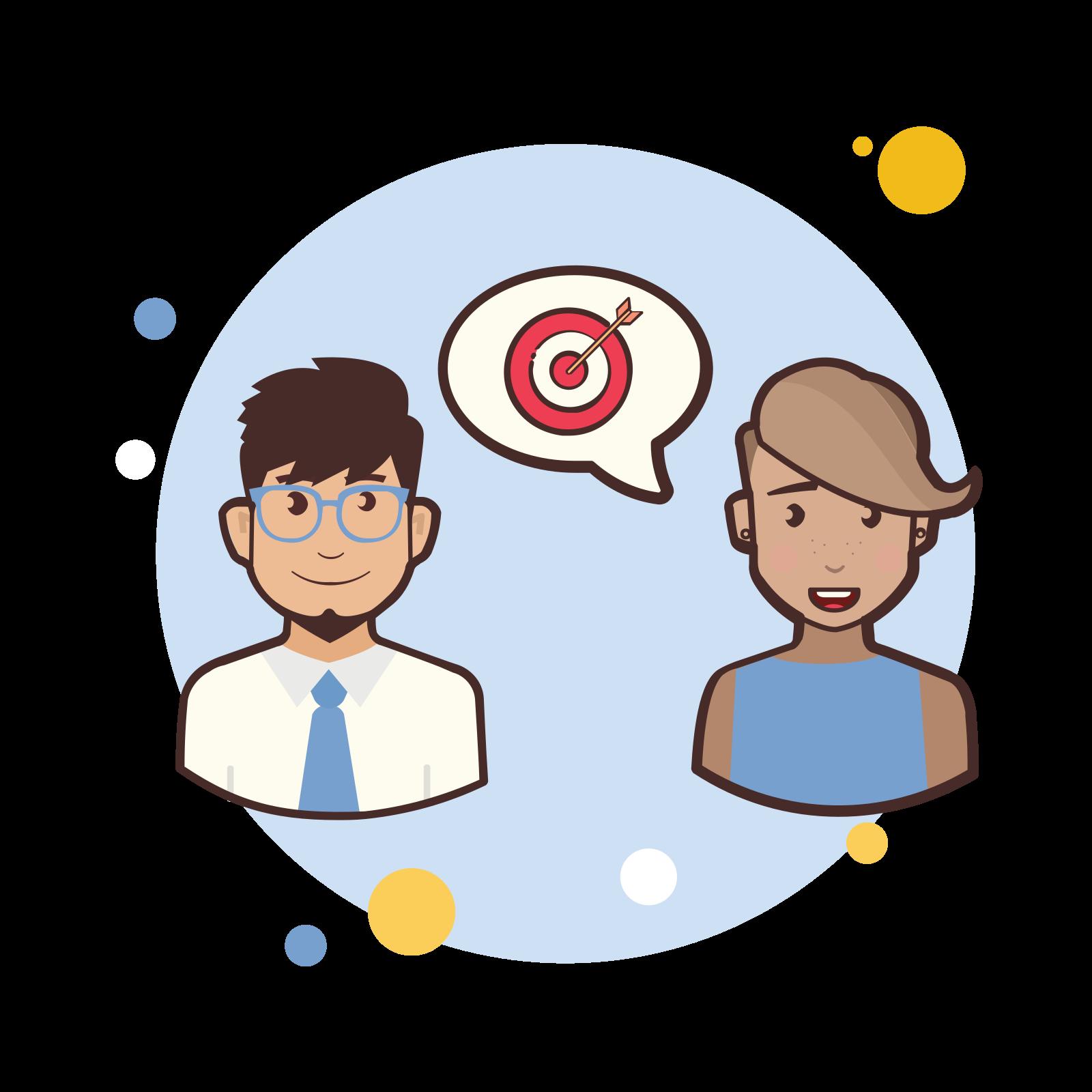 Couple Target icon