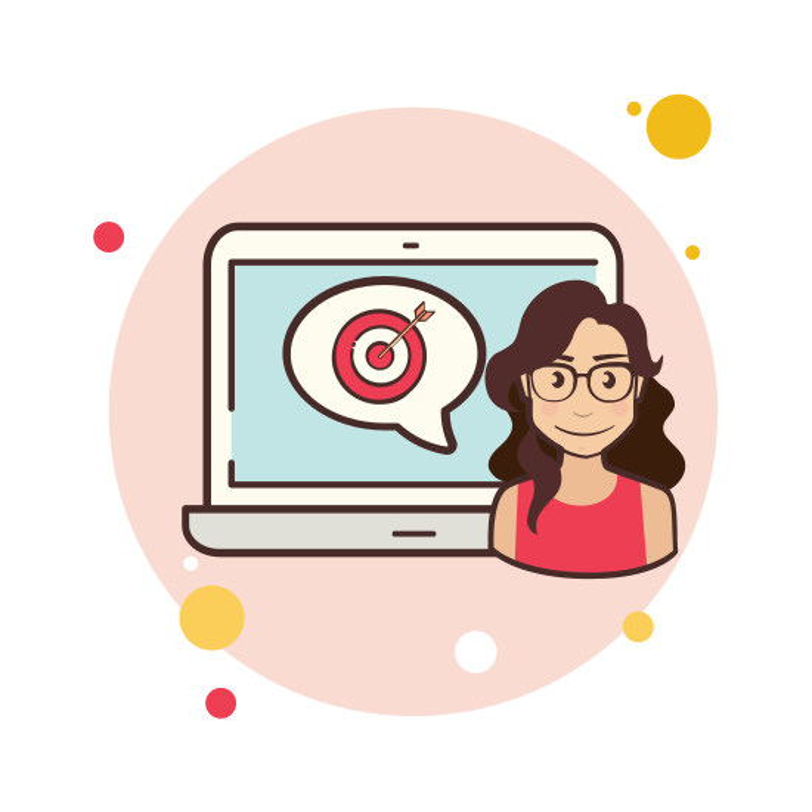 Laptop Target icon