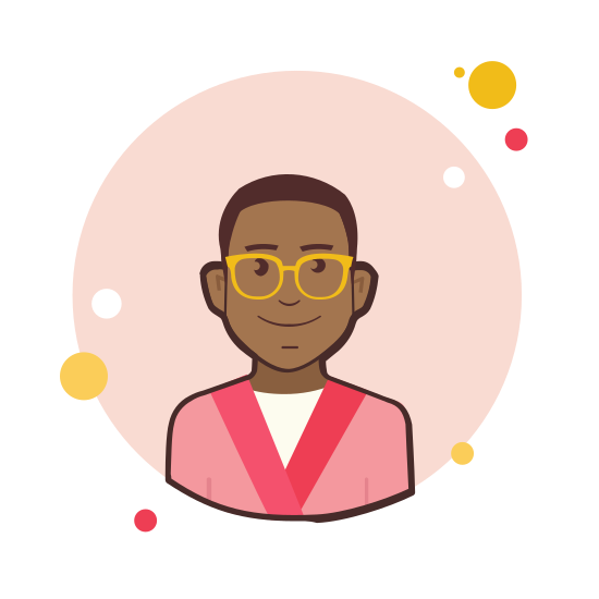 Man in Pink Jacket icon