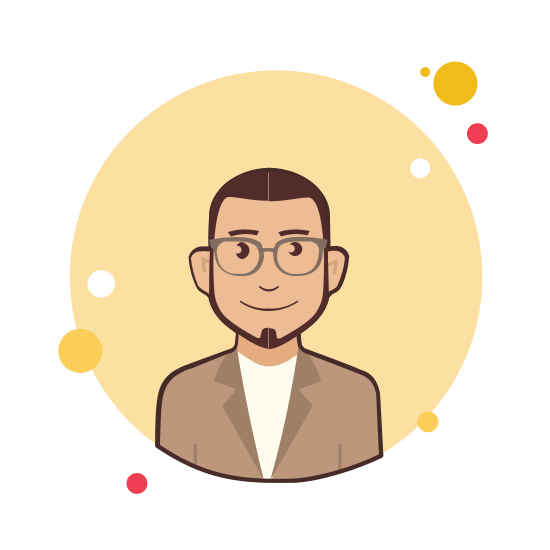 Man With Beard in Jacket icon