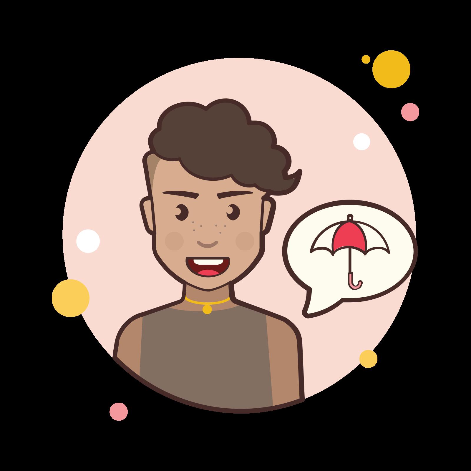 Umbrella Lady icon