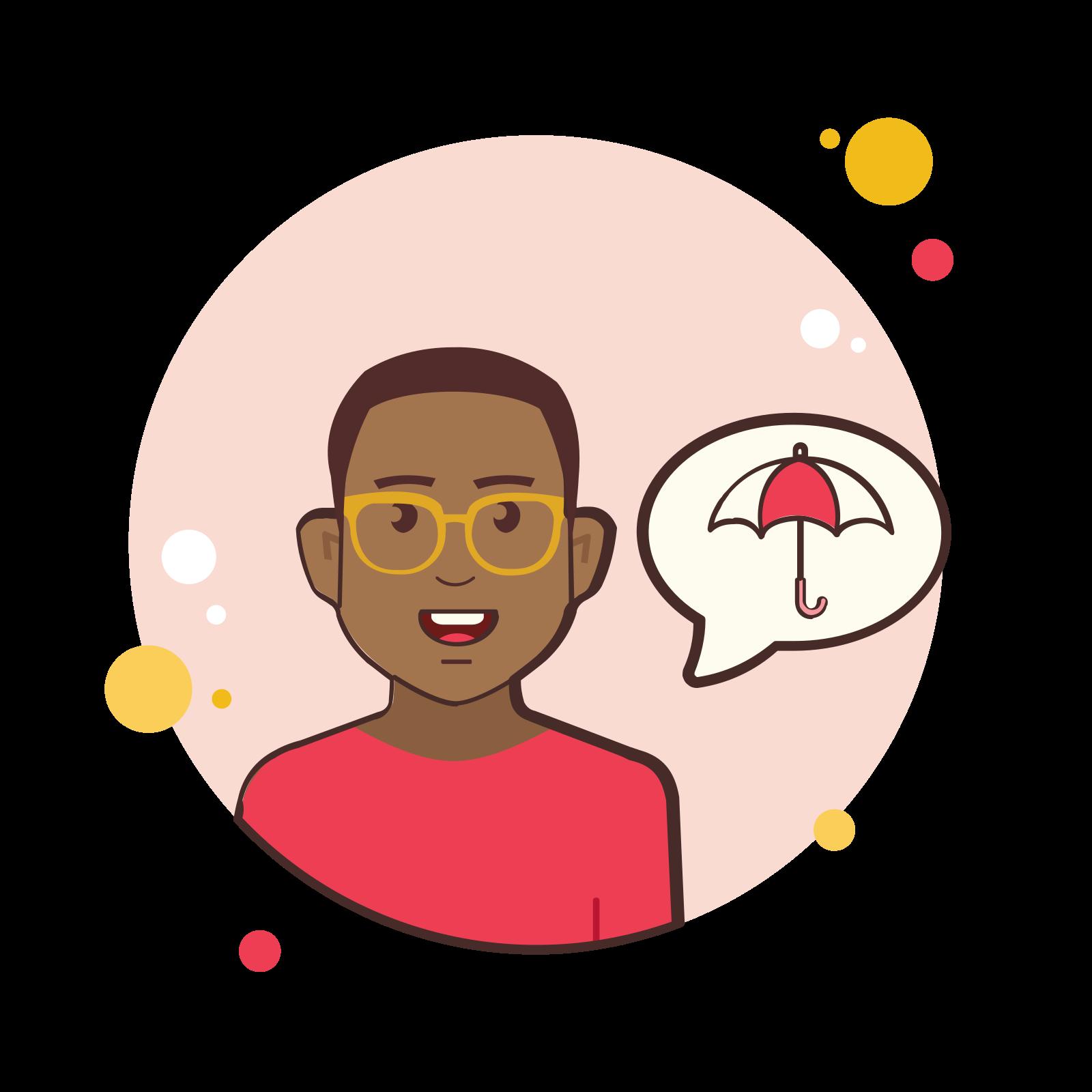 Umbrella Man icon