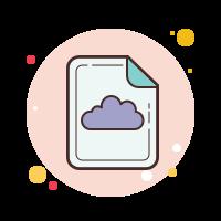 cloud file icon