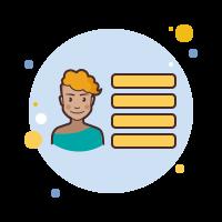 user menu-female icon