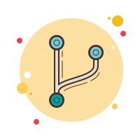 code fork icon