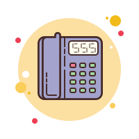 phone office icon