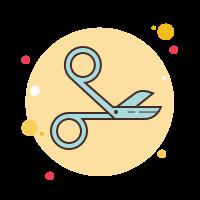 surgical scissors icon