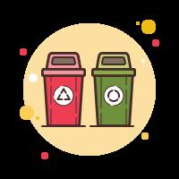 waste separation icon