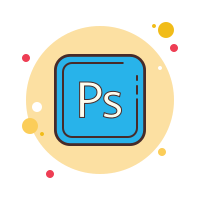 Adobe公司的Photoshop icon