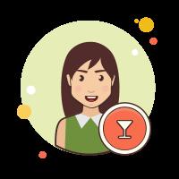 バーテンダー女性 icon