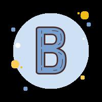 太字 icon