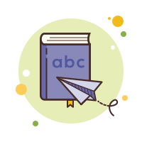 Book Cartoon icon