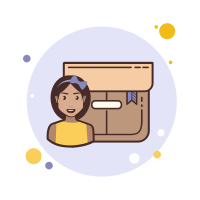 Brown Hair Girl Product Box icon