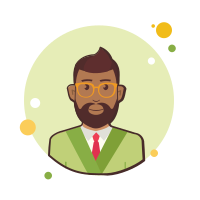 Business Man With Beard icon