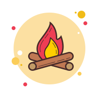 Feu de camp icon