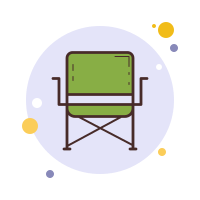 Camping Chair icon