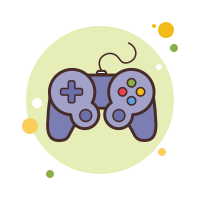 Video Game Controller Outline icon
