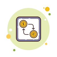 Dollar Euro Exchange icon