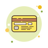 bank card-back-side icon