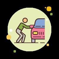 car theft icon