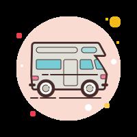 rv campground icon