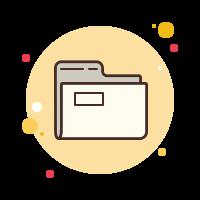folder invoices icon