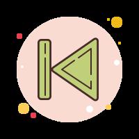skip to-start icon