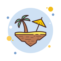 Floating Island Beach icon