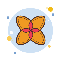 Geometric Flowers icon