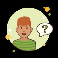 ジンジャーマンの質問マーク icon