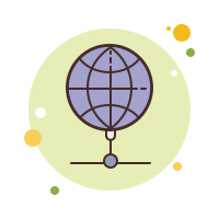 Earth Outline icon
