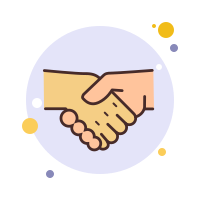 Hands in a Handshake icon