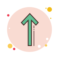 Long Arrow Up icon