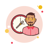 Man With a Clock icon