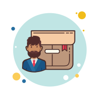 Man With Beard Product Box icon