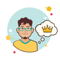 Man With Crown icon