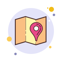 Address on a Map icon