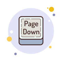Page Down Button icon
