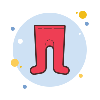 Red Children's Tights icon