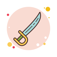 saber weapon icon