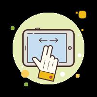 Tablet Drag icon