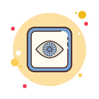 Eye Emoticon icon