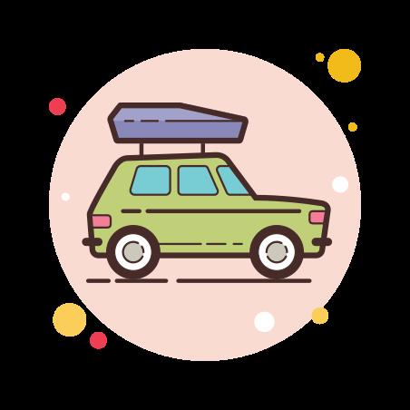 Car Roof Box icon