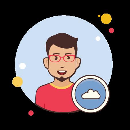 Войти в учетную запись облачного хранилища icon
