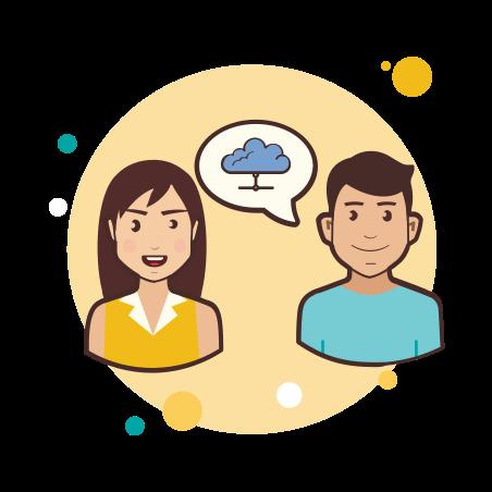 Couple ICloud icon