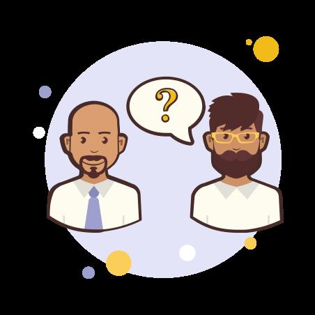 Couple Question Mark icon