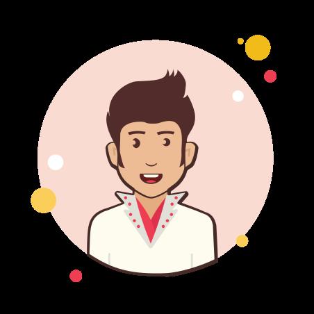 Elvis Presley icon